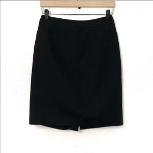 Halogen Black Pencil Skirt